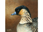 Hawaiian Goose painting